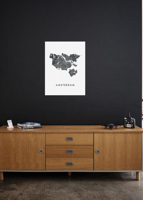 IXXI your city - 60 x 80 cm stadskaart poster