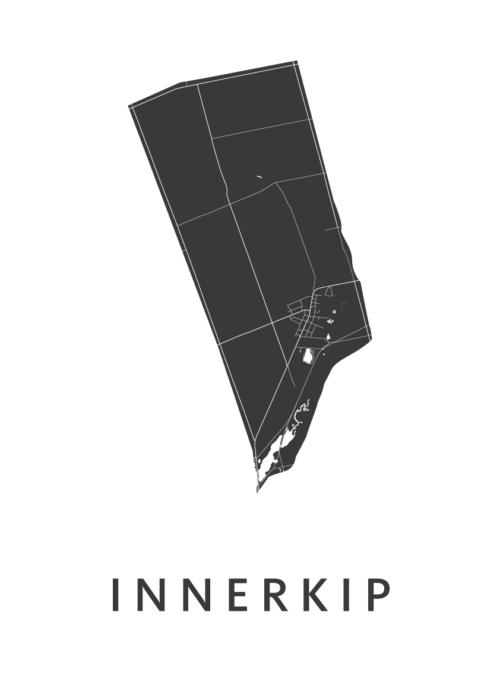 Innerkip White City Map