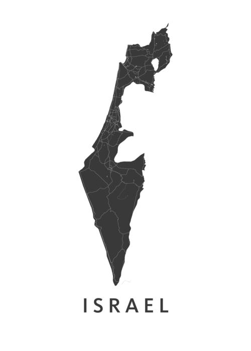Israel Landkaart