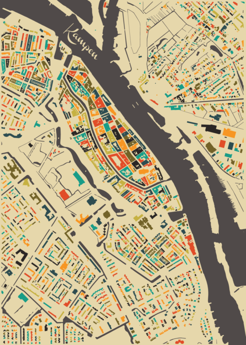 Kampen Autumn Mosaic Map