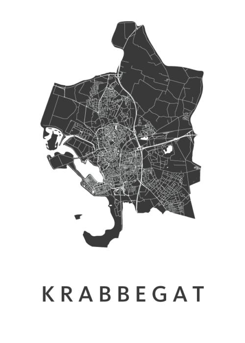 Krabbegat Carnaval Map