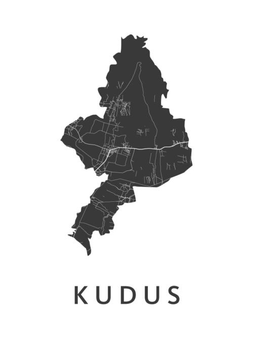Kudus White City Map