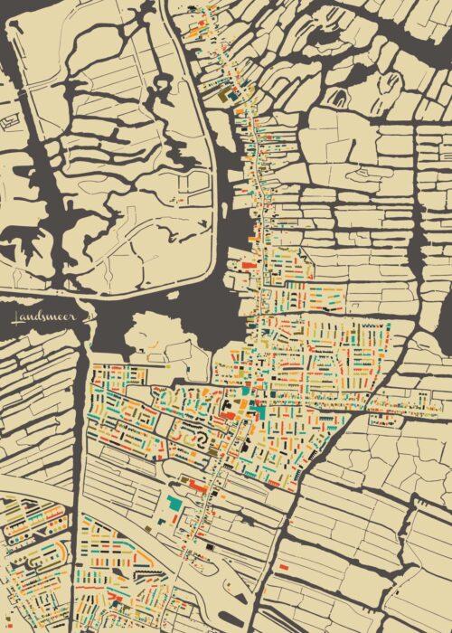 Landsmeer Autumn Mosaic Map