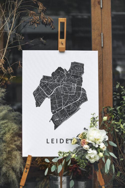 Stadskaart canvas