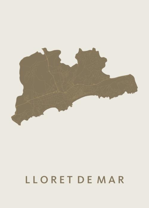 Lloret de Mar Gold City Map