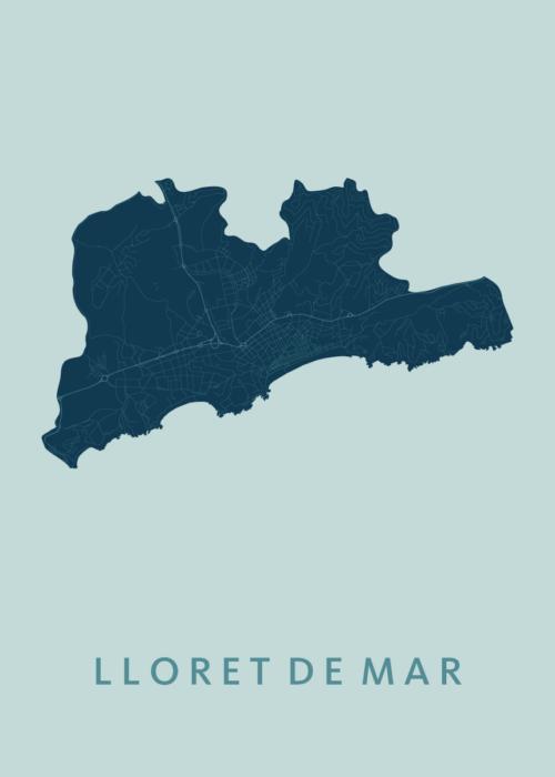 Lloret de Mar Mint City Map
