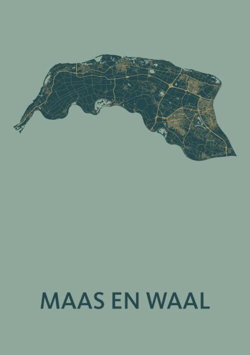 Maas en Waal Amazon Map