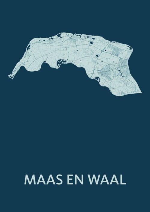 Maas en Waal Feldgrau Map
