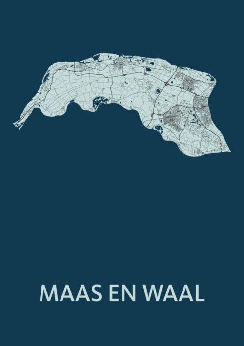 Maas en Waal Navy Map