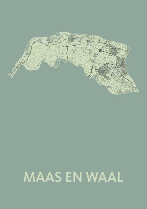 Maas en Waal Olive Map
