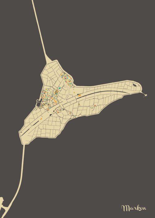 Marken Autumn Mosaic Map