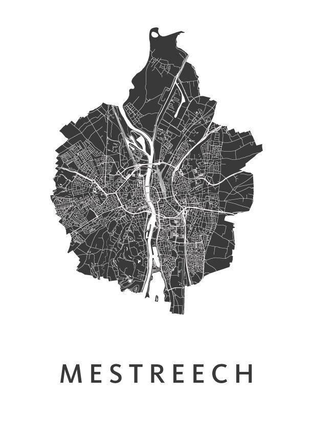 Mestreech Carnaval Map