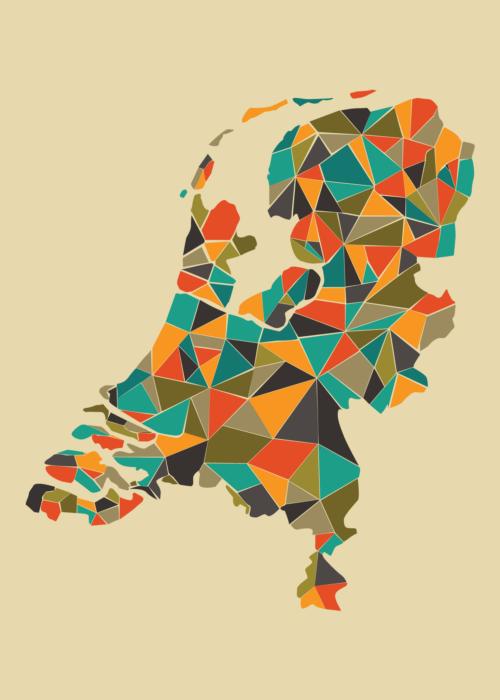 Nederland geometrisch Autumn