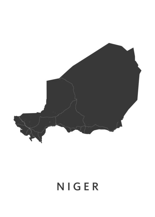 Nigar Landkaart