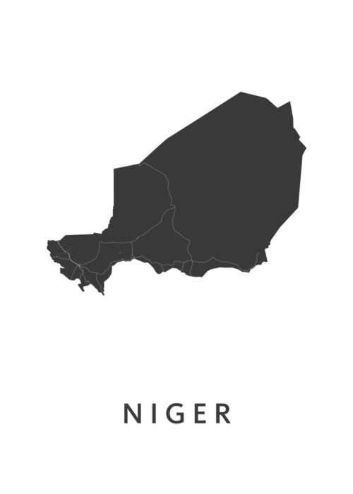 Niger Country Map