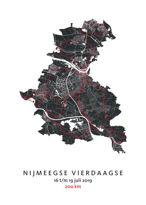 Nijmeegse Vierdaagse - 103e editie - 2019