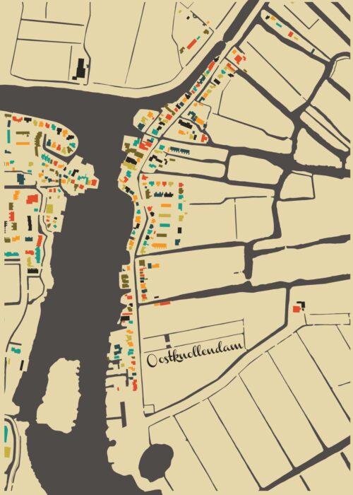 Oostknollendam Autumn Mosaic Map