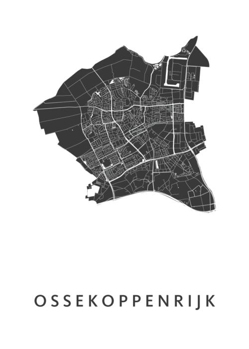 Ossekoppenrijk Carnaval Map