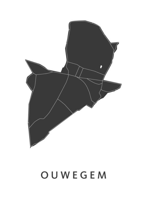 Ouwegem White City Map