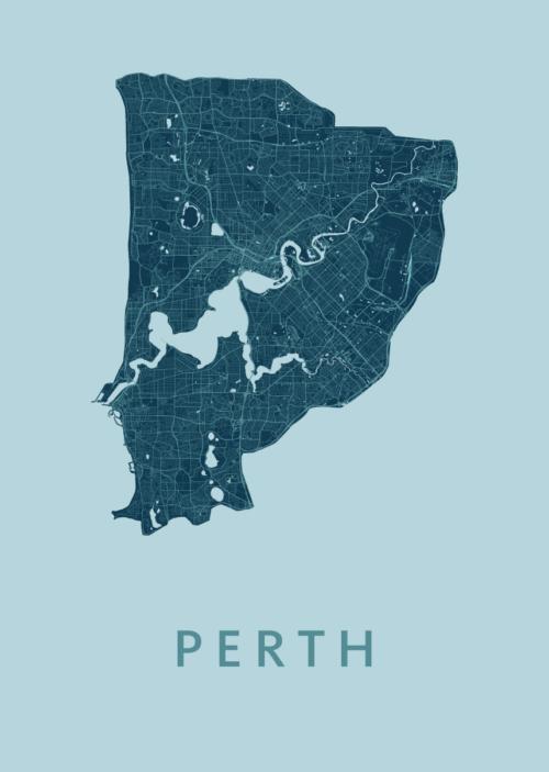 Perth Mint City Map