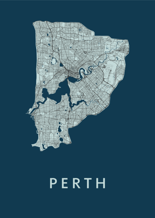 Perth Navy City Map