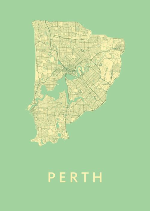 Perth Spring City Map