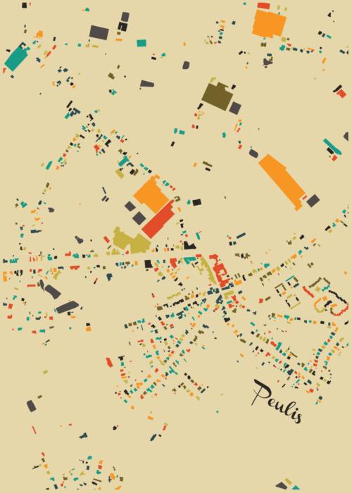 Peulis Autumn Mosaic Map
