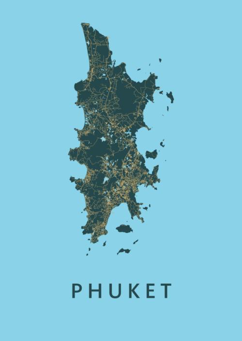 Phuket Azure Island Map