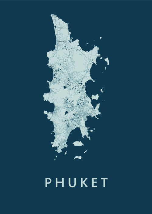 Phuket Feldgrau Island Map