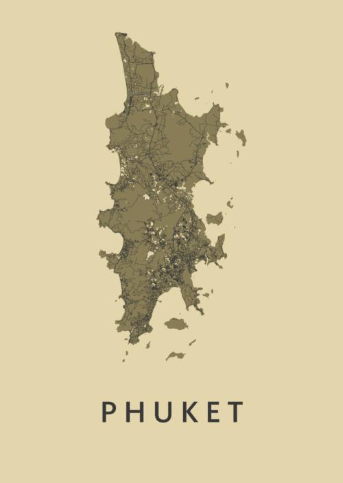 Phuket GoldenRod Island Map
