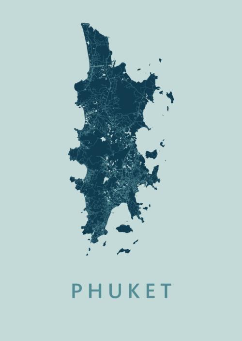 Phuket Mint Island Map