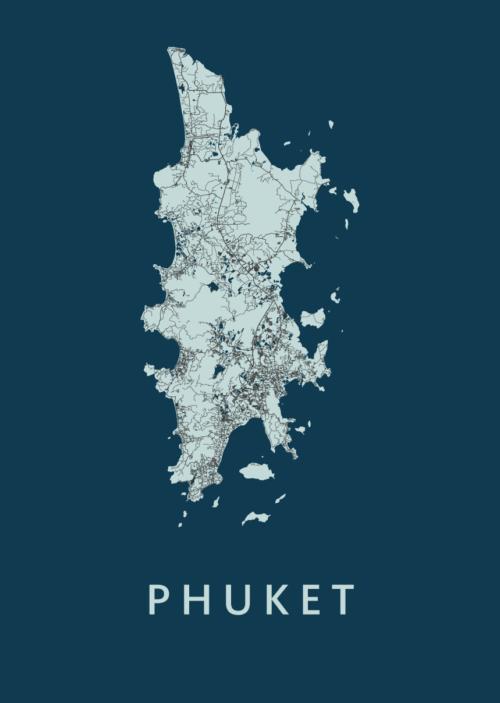 Phuket Navy Island Map