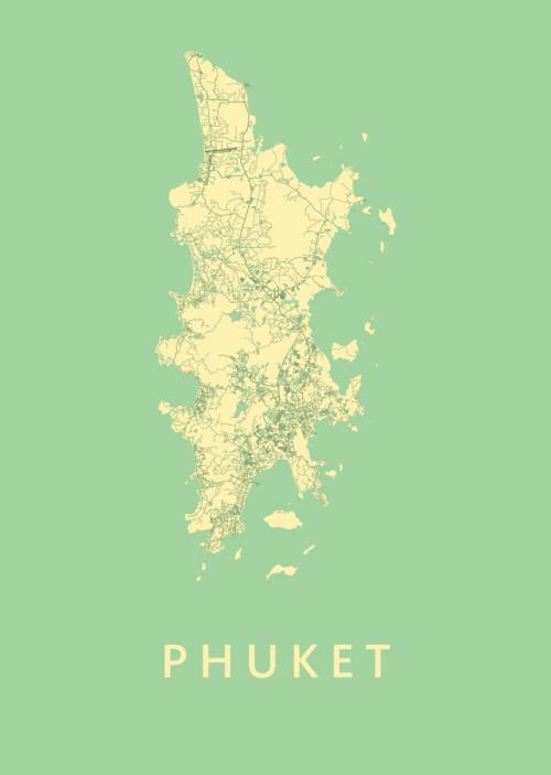 Phuket Spring Island Map