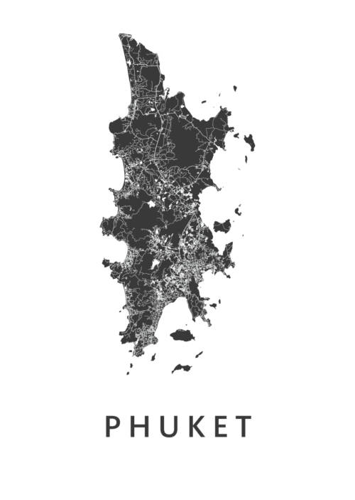 Phuket White Island Map