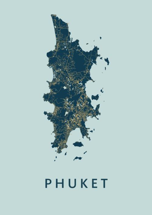 Phuket Prussian Island Map
