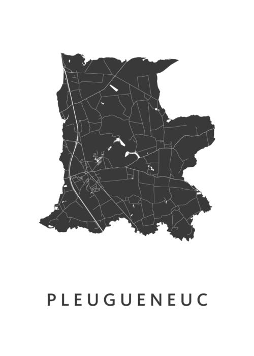 Pleugueneuc White City Map