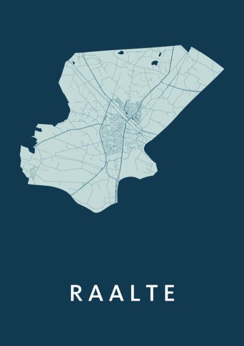 Raalte Feldgrau City Map