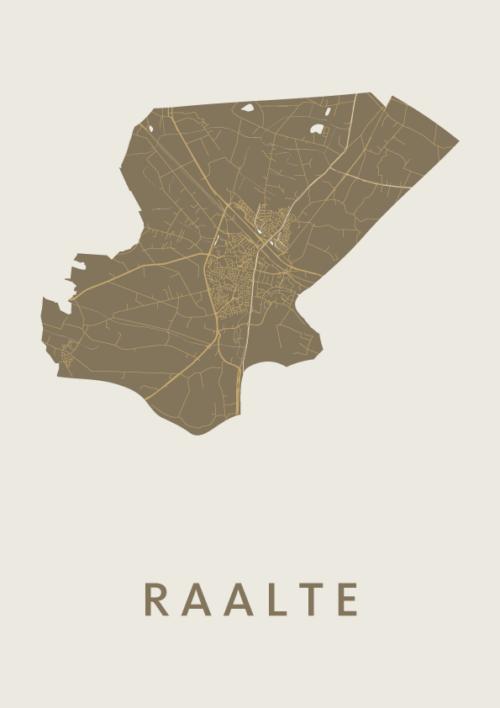 Raalte Gold City Map