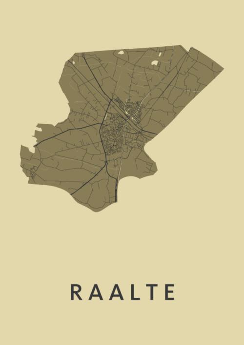 Raalte GoldenRod City Map