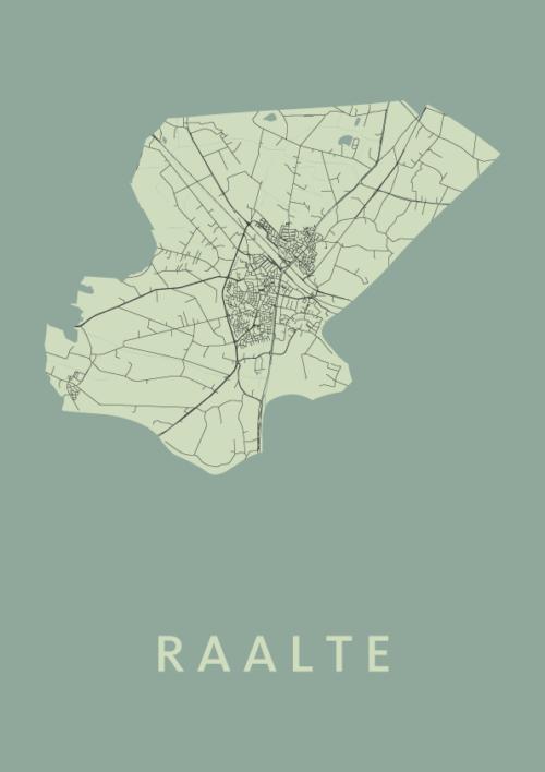 Raalte Olive City Map