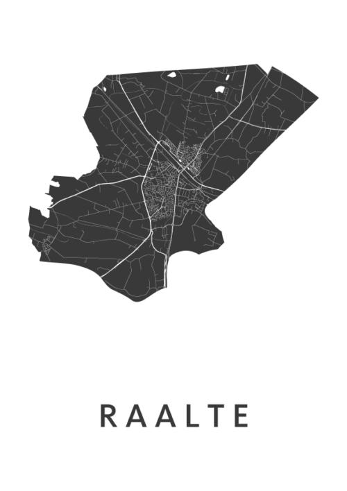 Raalte White City Map