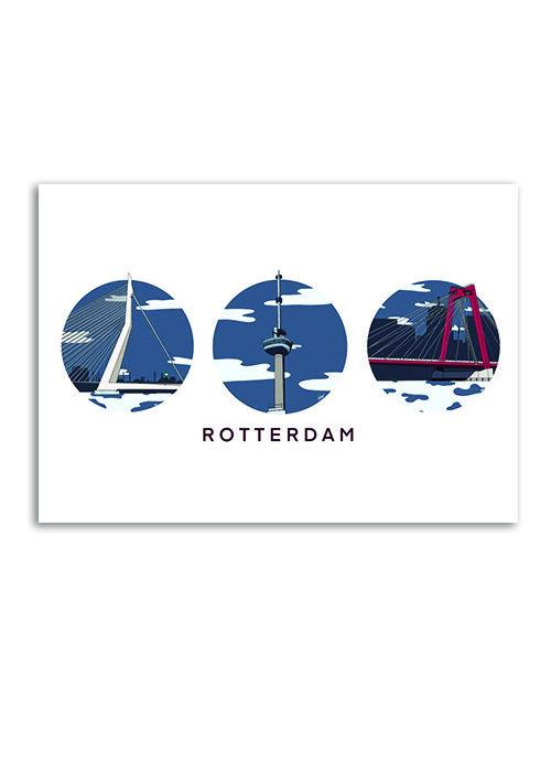 Rotterdam Klassieke mix - Poster