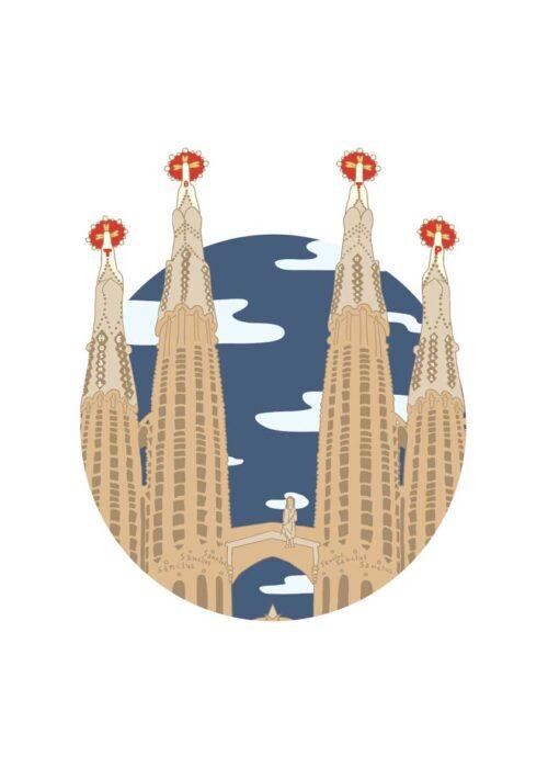 Sagrada Família - Barcelona - Poster