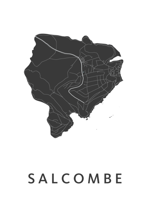 Salcombe White City Map
