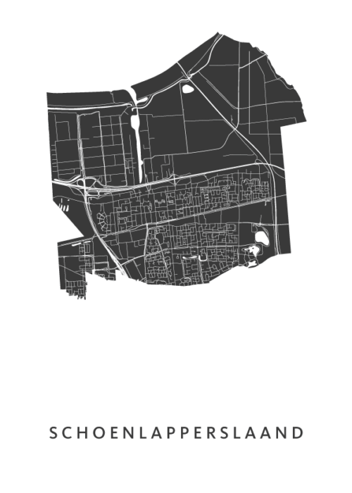 Schoenlapperslaand Carnaval Map