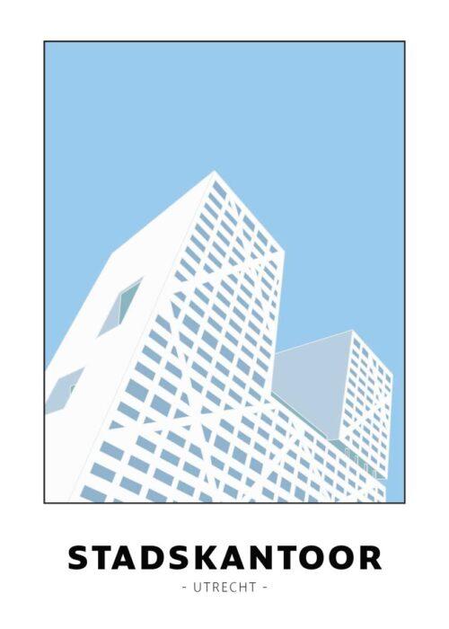 Stadskantoor - Utrecht - Poster