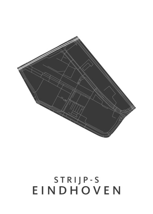 Eindhoven - Strijp-S White Wijk Map