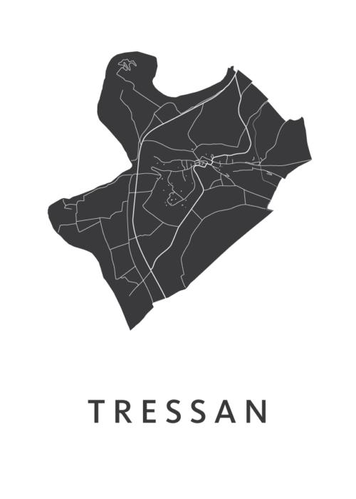 Tressan White City Map