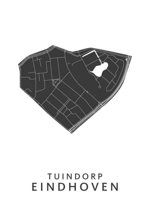 Eindhoven - Tuindorp White Wijk Map