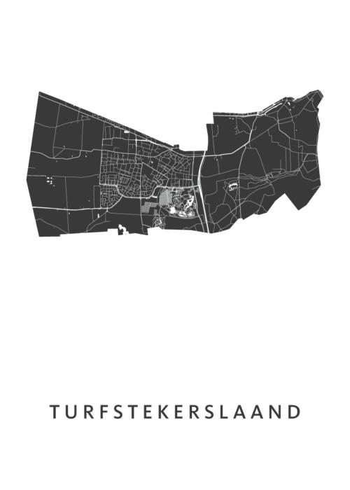 Turfstekerslaand Carnaval Map